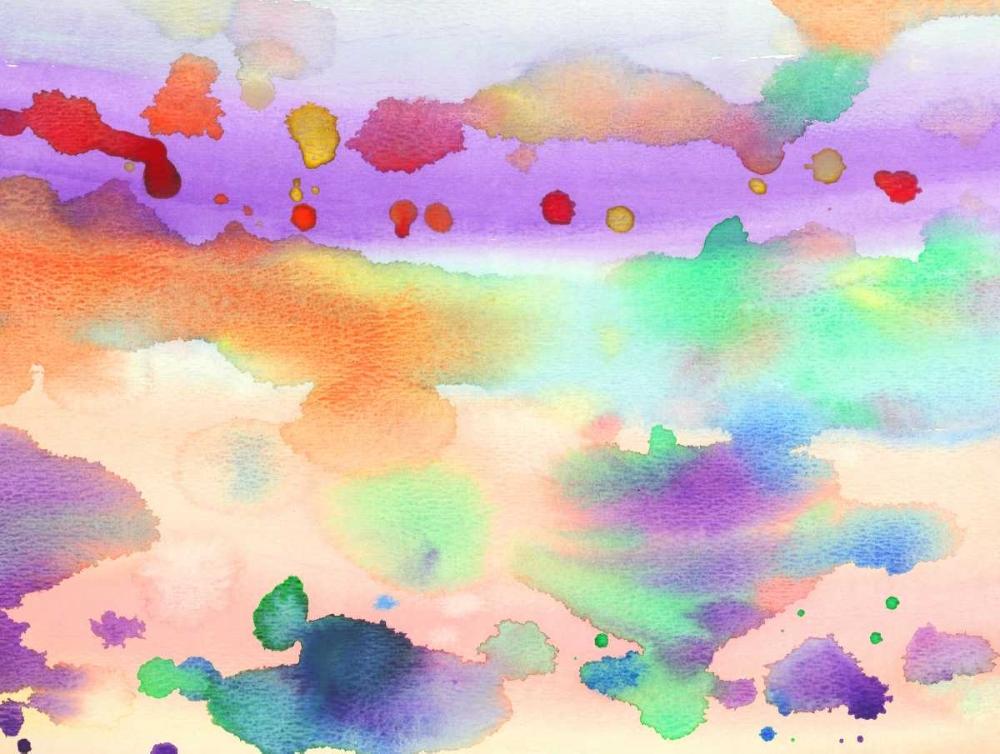 konfigurieren des Kunstdrucks in Wunschgröße Watercolored von Grey, Jace