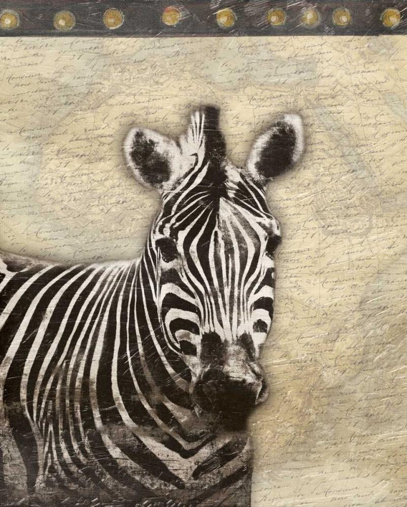 konfigurieren des Kunstdrucks in Wunschgröße Zebra Africa 2 von Grey, Jace