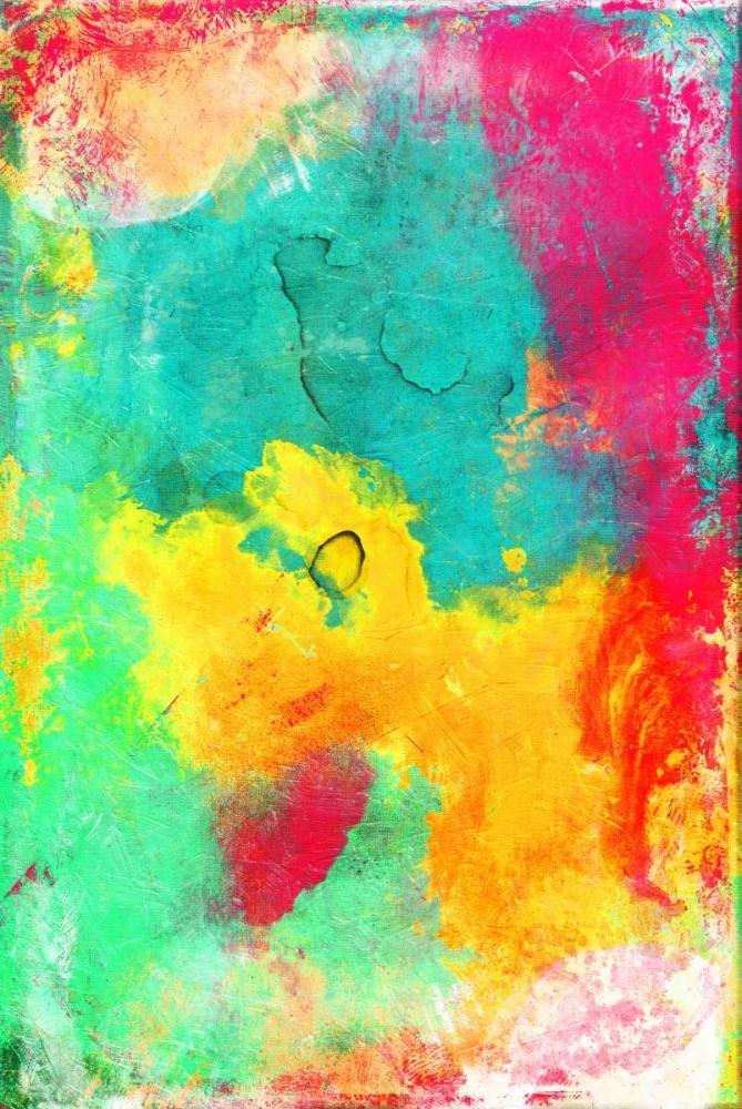 konfigurieren des Kunstdrucks in Wunschgröße Bright Cosmic graffiti von Grey, Jace