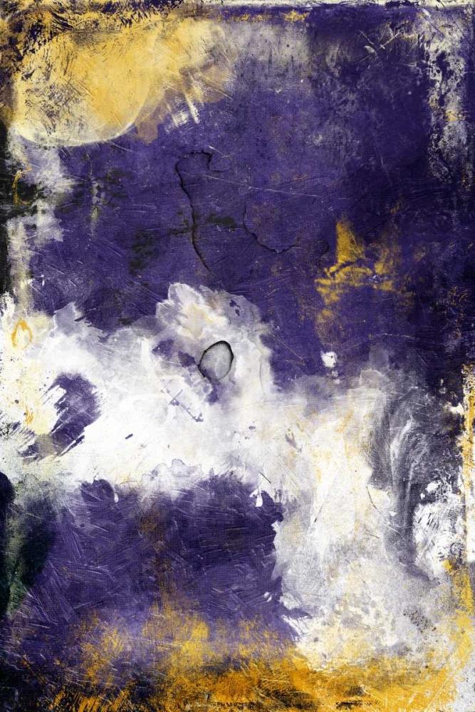 konfigurieren des Kunstdrucks in Wunschgröße Purple Galaxy von Grey, Jace