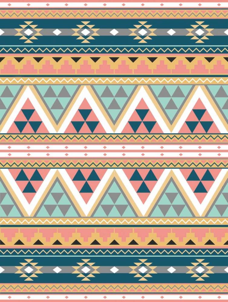 konfigurieren des Kunstdrucks in Wunschgröße Cotton Candy Aztec von Grey, Jace