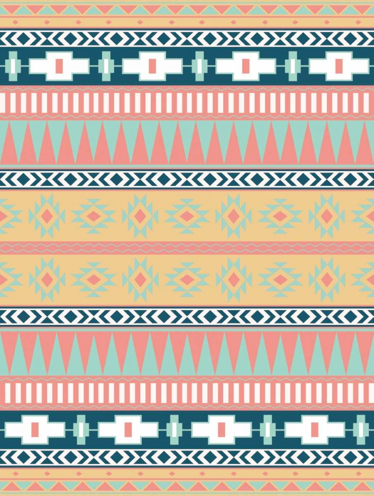 konfigurieren des Kunstdrucks in Wunschgröße Cotton Candy Aztec Mate von Grey, Jace