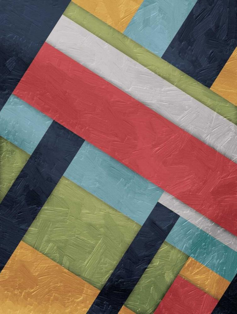 konfigurieren des Kunstdrucks in Wunschgröße Stipe Overlay von Grey, Jace