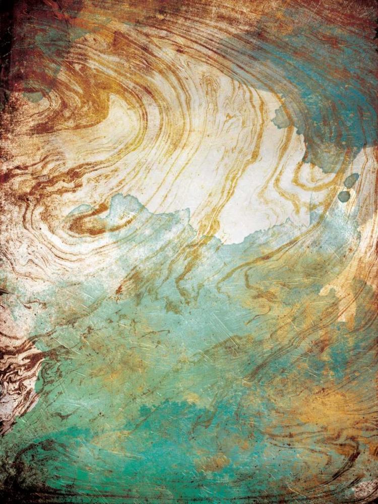 konfigurieren des Kunstdrucks in Wunschgröße Golden Sea Marble von Grey, Jace