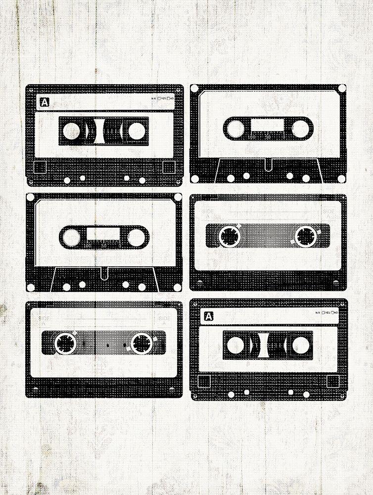 konfigurieren des Kunstdrucks in Wunschgröße Tapes On Deck von Grey, Jace