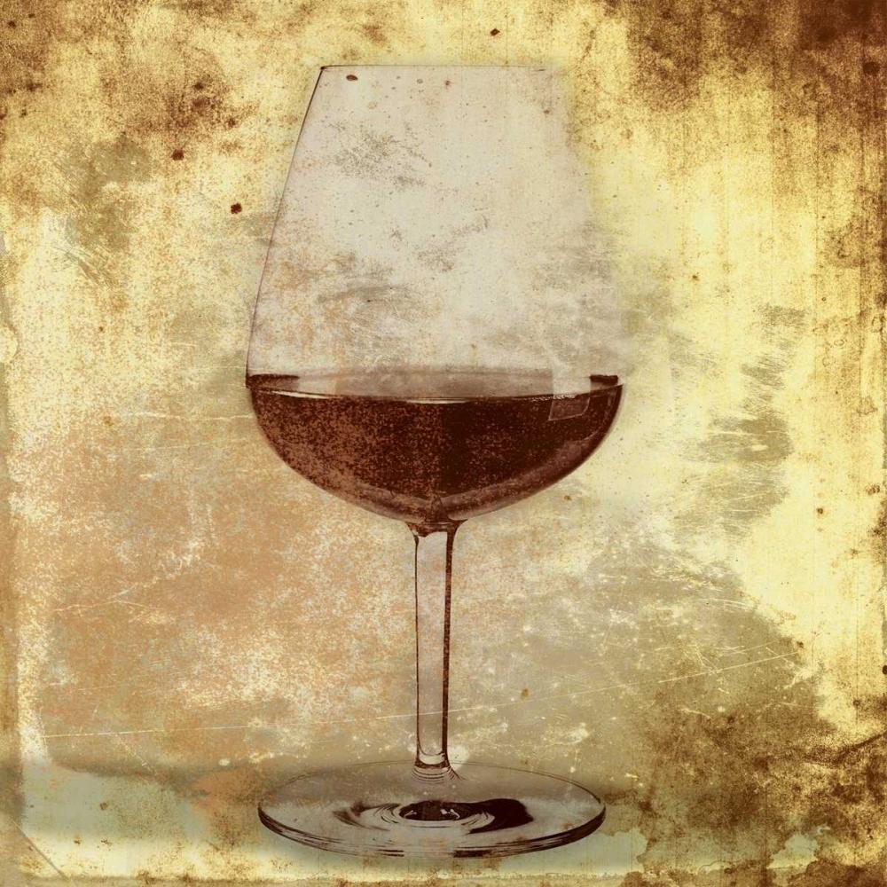 konfigurieren des Kunstdrucks in Wunschgröße Wine glass von Grey, Jace