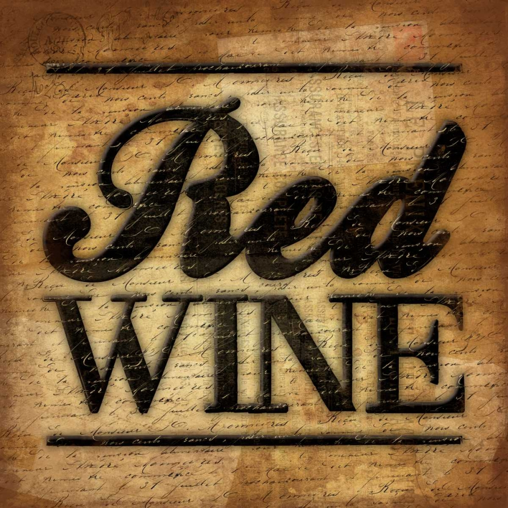 konfigurieren des Kunstdrucks in Wunschgröße Red Wine A2 von Grey, Jace
