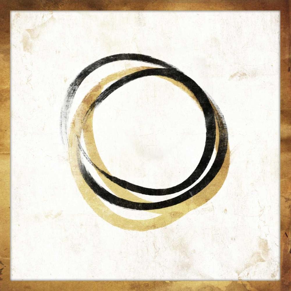 konfigurieren des Kunstdrucks in Wunschgröße Gold Abstract mate von Grey, Jace