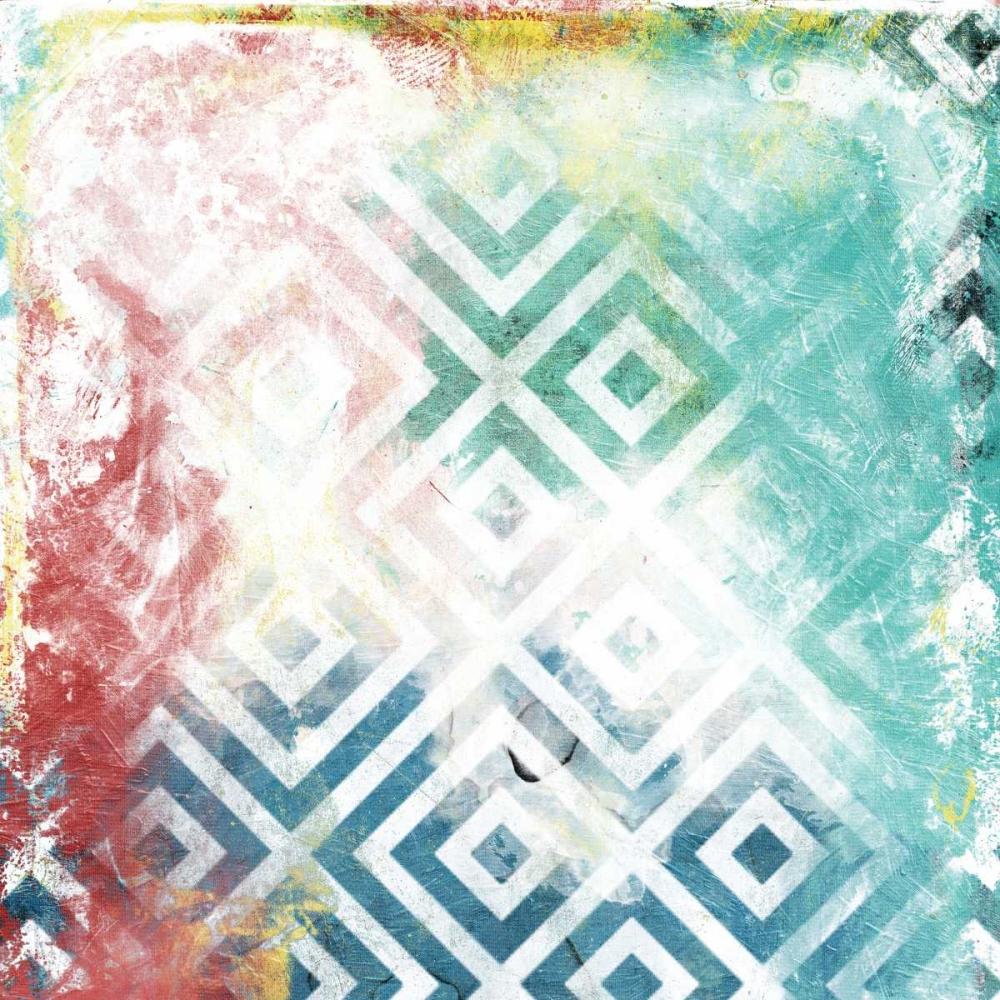 konfigurieren des Kunstdrucks in Wunschgröße Happy Cosmic pattern von Grey, Jace