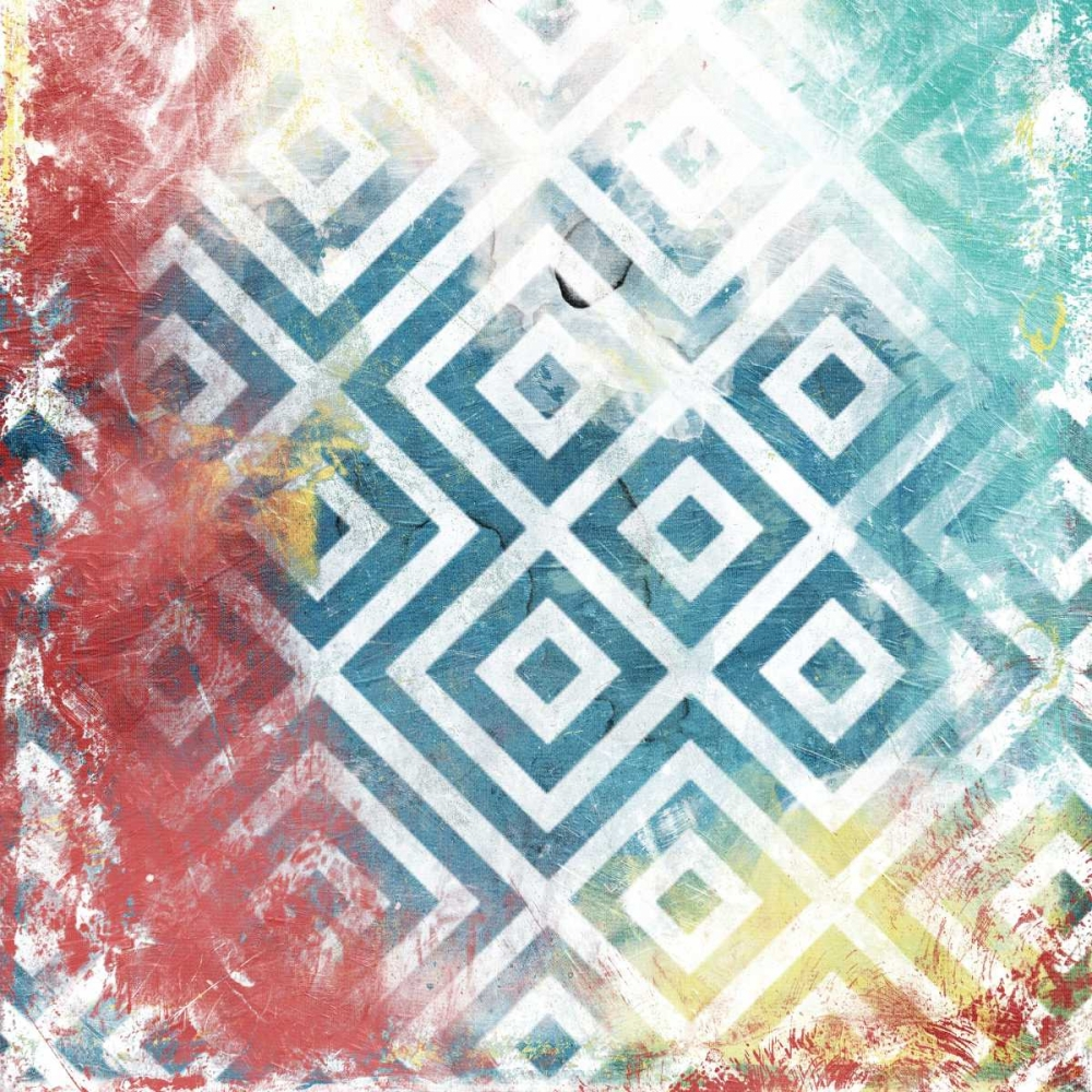 konfigurieren des Kunstdrucks in Wunschgröße Happy Cosmic pattern mate von Grey, Jace