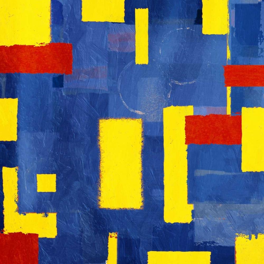 konfigurieren des Kunstdrucks in Wunschgröße Pop Rectangular Abstract von Grey, Jace