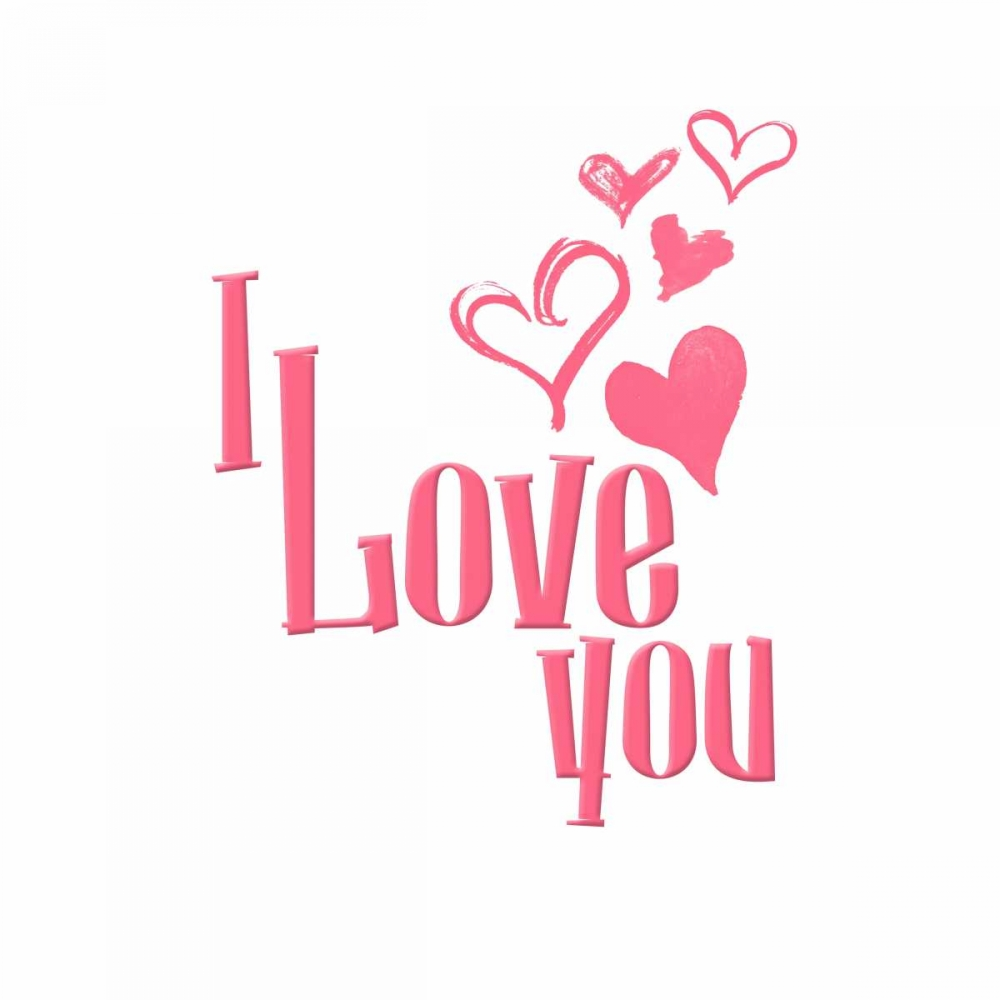 konfigurieren des Kunstdrucks in Wunschgröße Love Hearts von Grey, Jace