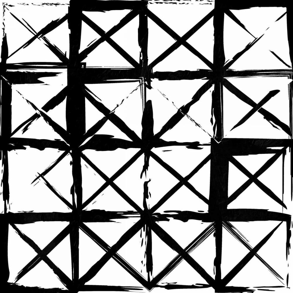 konfigurieren des Kunstdrucks in Wunschgröße Box Black Lines von Grey, Jace
