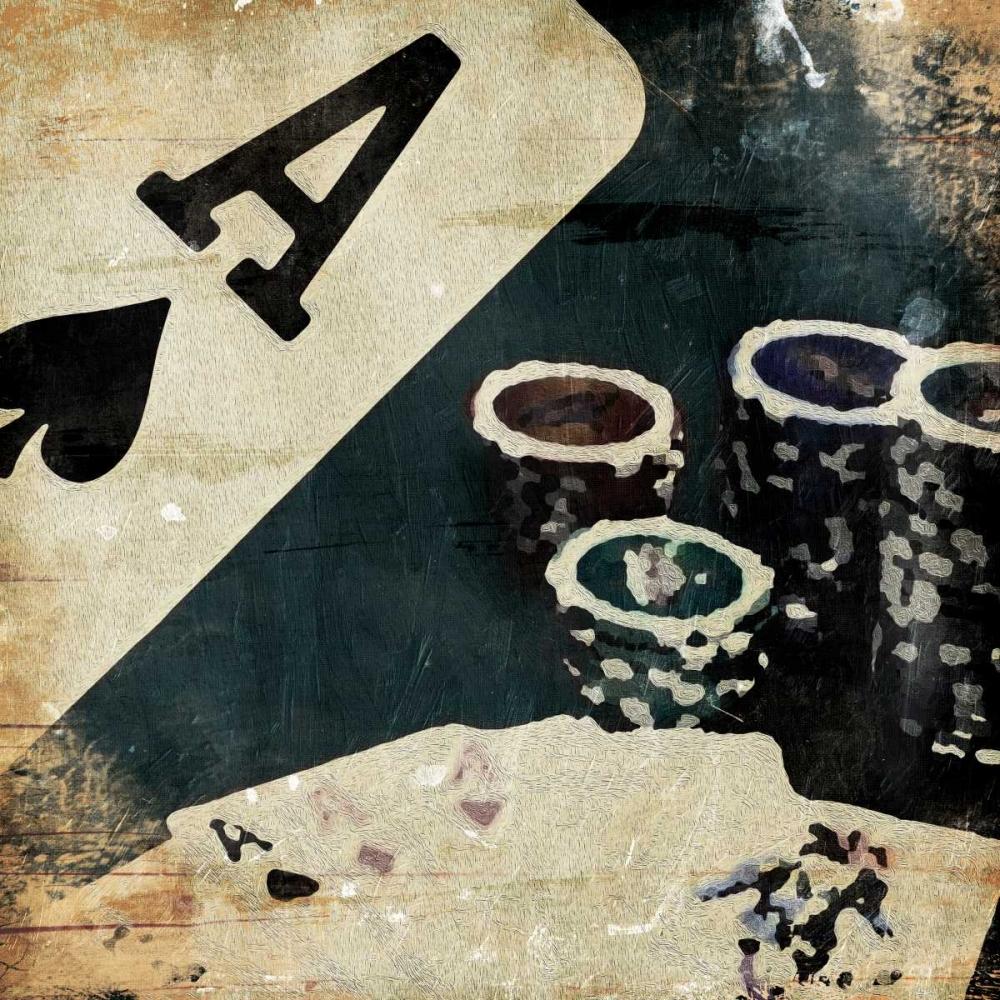 konfigurieren des Kunstdrucks in Wunschgröße Poker Play Three von Grey, Jace