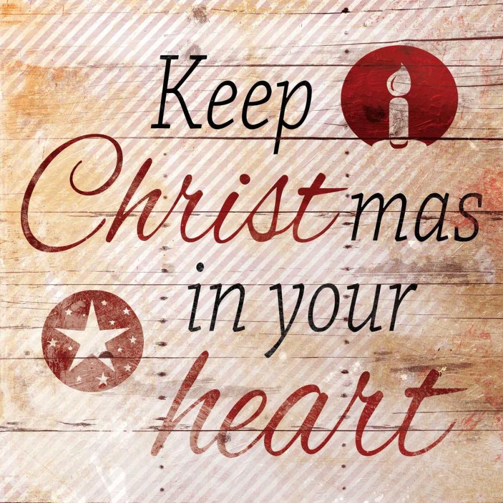 konfigurieren des Kunstdrucks in Wunschgröße Christmas In Your Heart von Grey, Jace