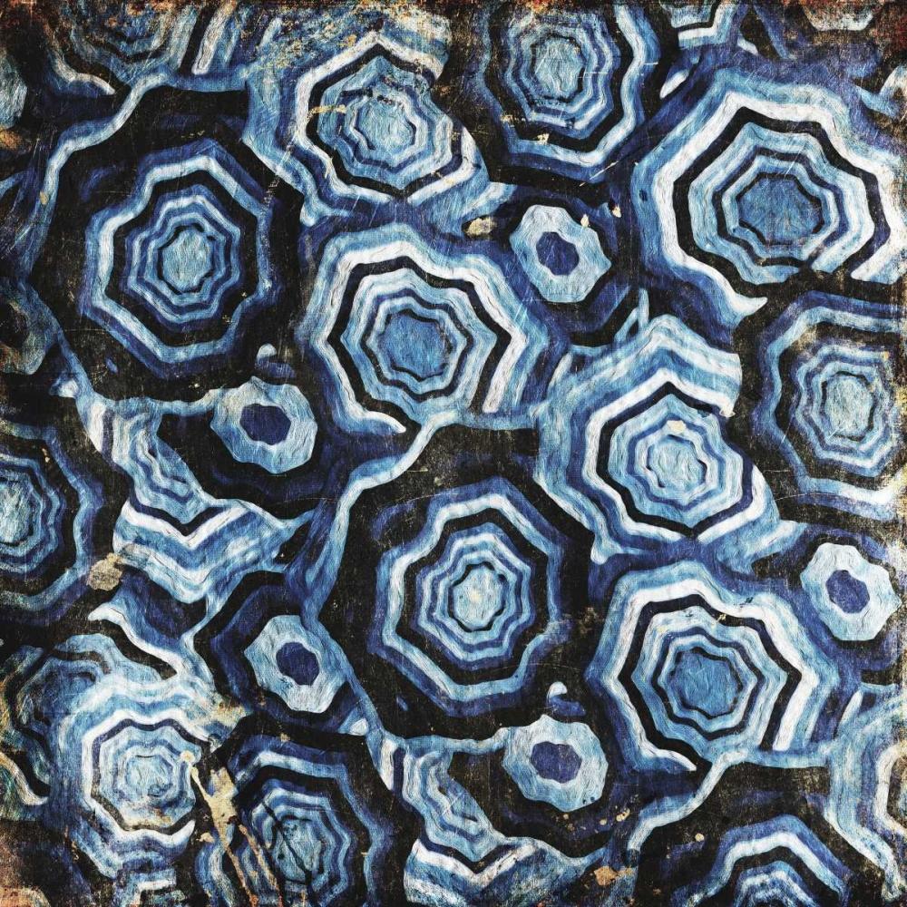 konfigurieren des Kunstdrucks in Wunschgröße Mix Of Blue Chips von Grey, Jace