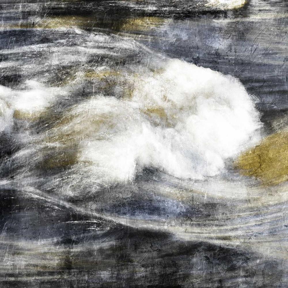 konfigurieren des Kunstdrucks in Wunschgröße Dull Wave von Grey, Jace
