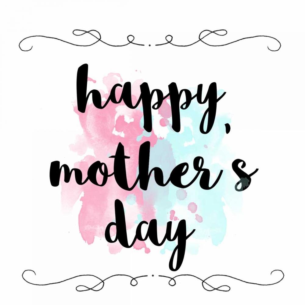 konfigurieren des Kunstdrucks in Wunschgröße Splattered Mothers Day von Matic, Jelena