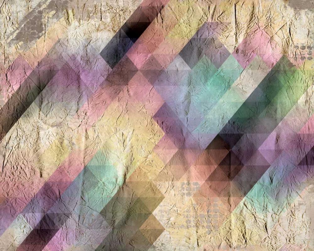 konfigurieren des Kunstdrucks in Wunschgröße Color Code von Allen, Kimberly