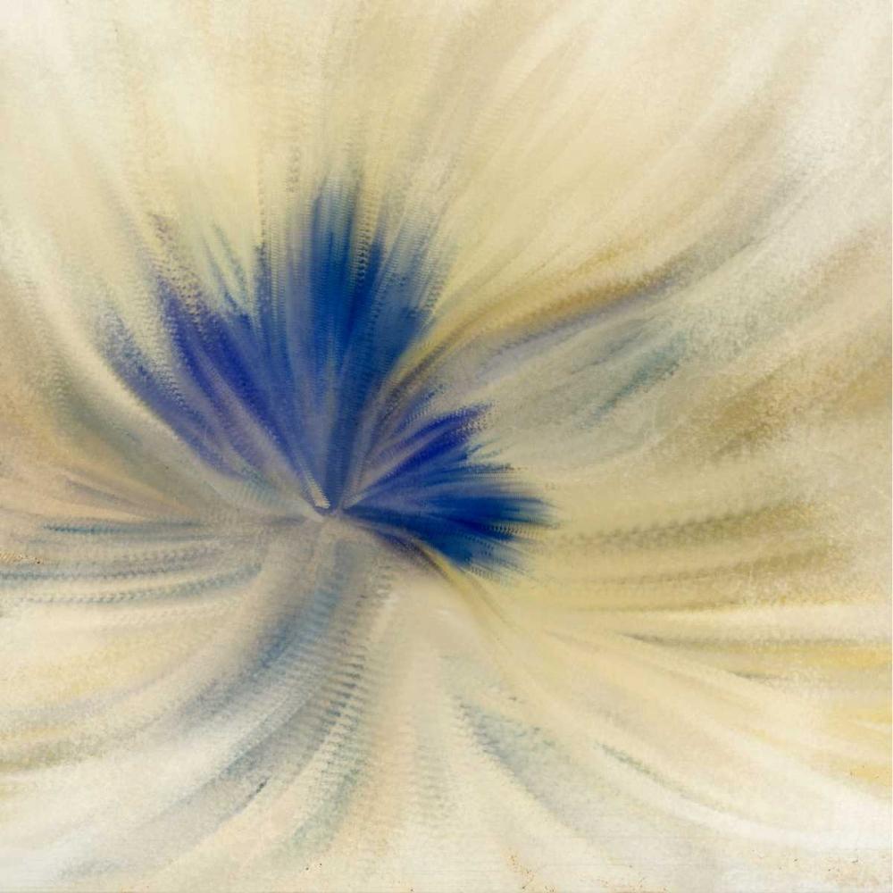 konfigurieren des Kunstdrucks in Wunschgröße Blue Bloom 2 von Allen, Kimberly