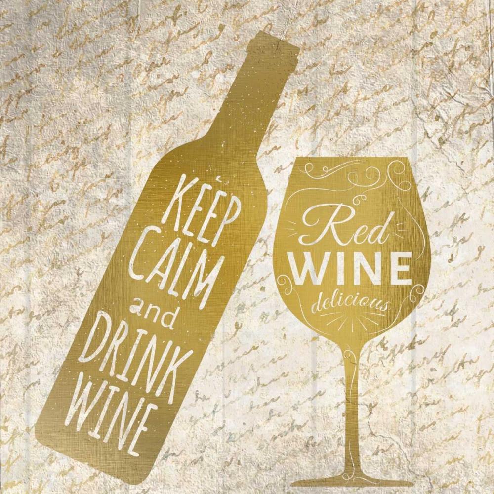 konfigurieren des Kunstdrucks in Wunschgröße Red Wine von Allen, Kimberly
