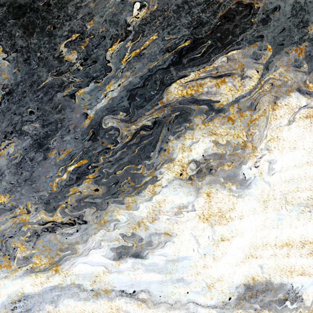 konfigurieren des Kunstdrucks in Wunschgröße Gold Flecks Mood von Allen, Kimberly