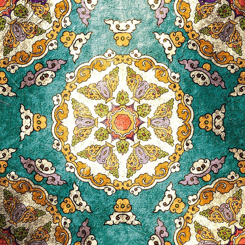 konfigurieren des Kunstdrucks in Wunschgröße Tiled 3 von Kimberly, Allen