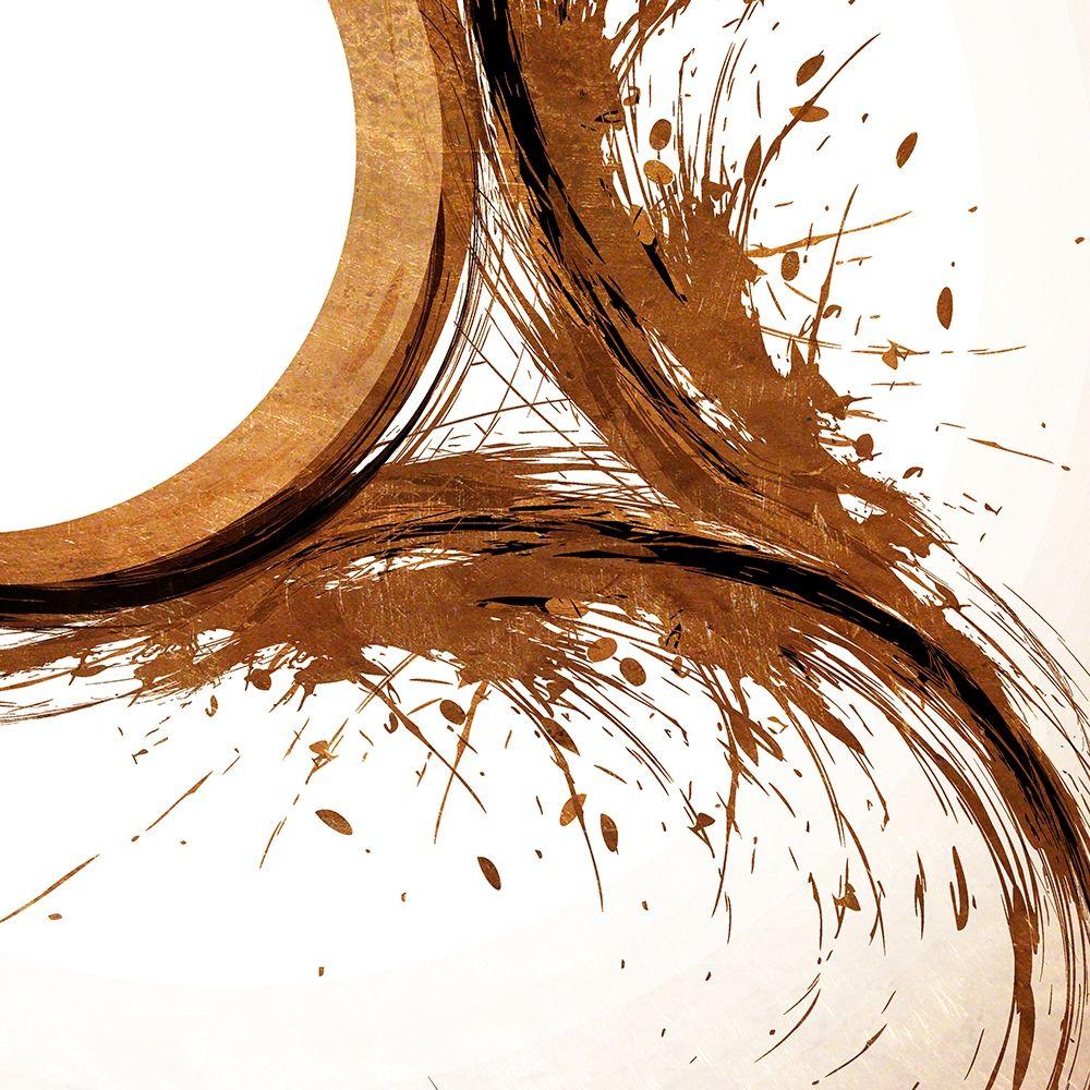 konfigurieren des Kunstdrucks in Wunschgröße Copper Swirls 1 von Kimberly, Allen