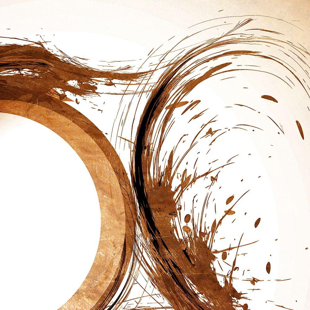 konfigurieren des Kunstdrucks in Wunschgröße Copper Swirls 2 von Kimberly, Allen