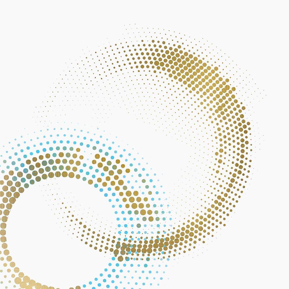 konfigurieren des Kunstdrucks in Wunschgröße Circle Point 1 von Kimberly, Allen