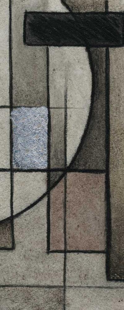 konfigurieren des Kunstdrucks in Wunschgröße Modern Circles Right von Emery, Kristin