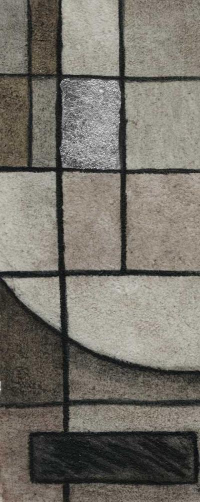 konfigurieren des Kunstdrucks in Wunschgröße Modern Circles Left von Emery, Kristin