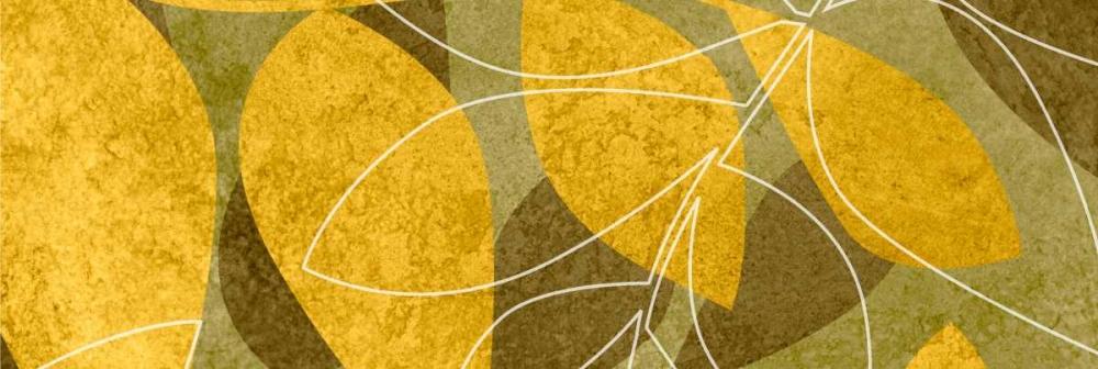 konfigurieren des Kunstdrucks in Wunschgröße Leaves I von Emery, Kristin