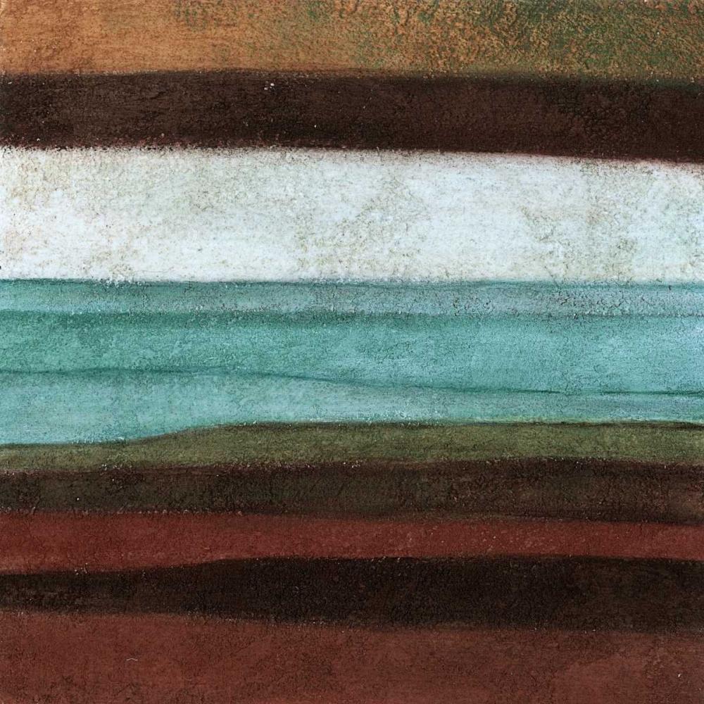 konfigurieren des Kunstdrucks in Wunschgröße Stripes Left von Emery, Kristin