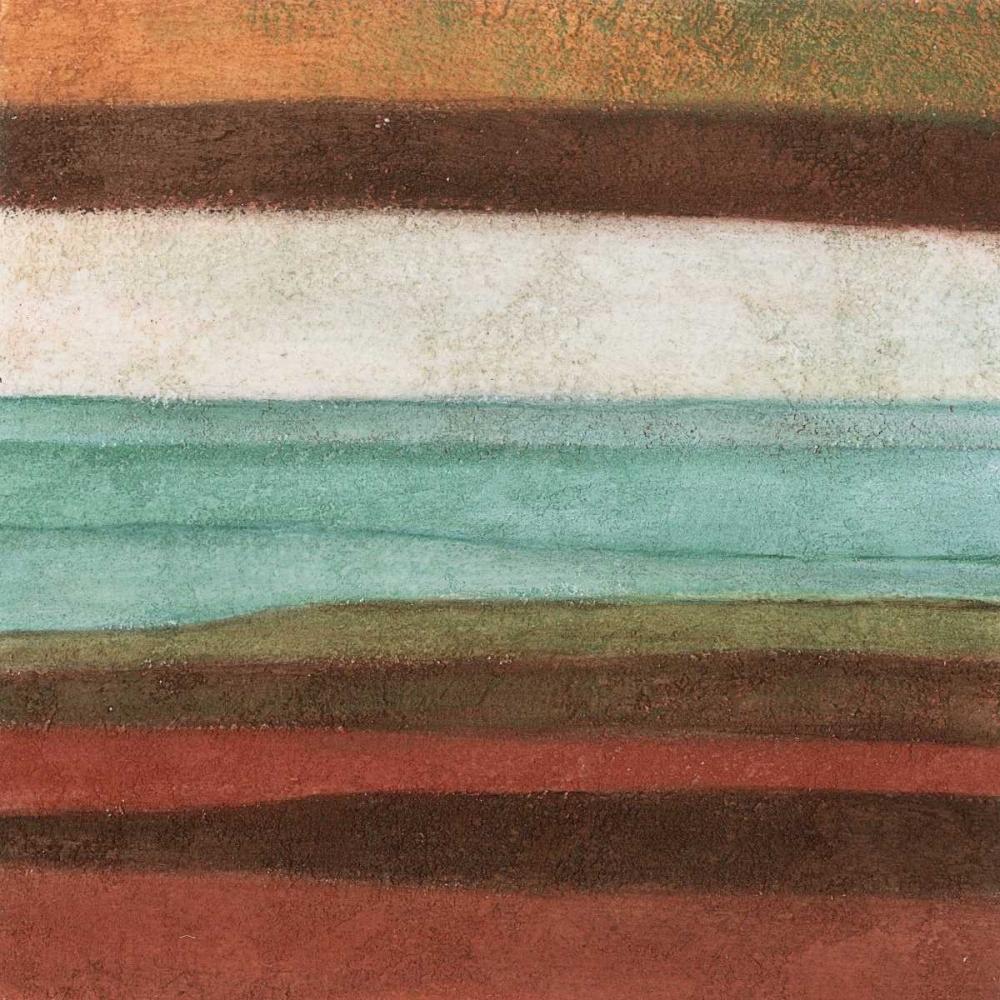 konfigurieren des Kunstdrucks in Wunschgröße Stripes I von Emery, Kristin