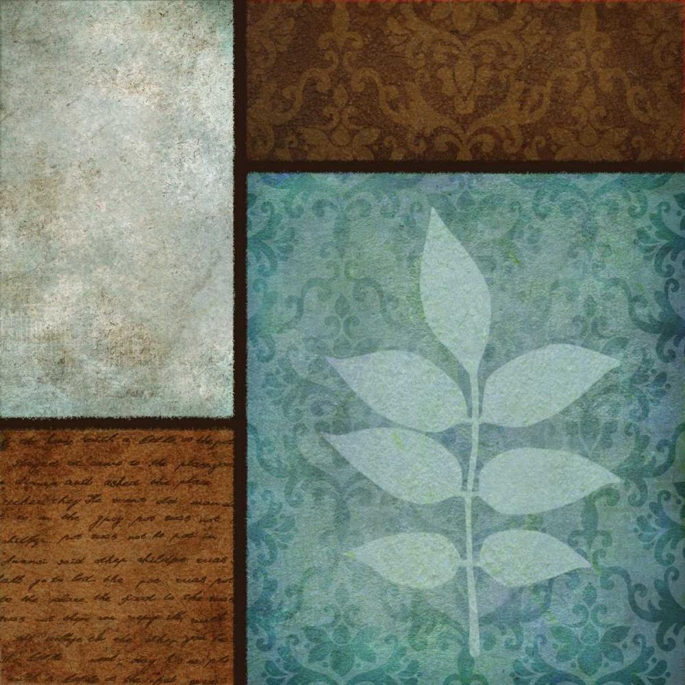 konfigurieren des Kunstdrucks in Wunschgröße Patterns and Ferns IV von Emery, Kristin