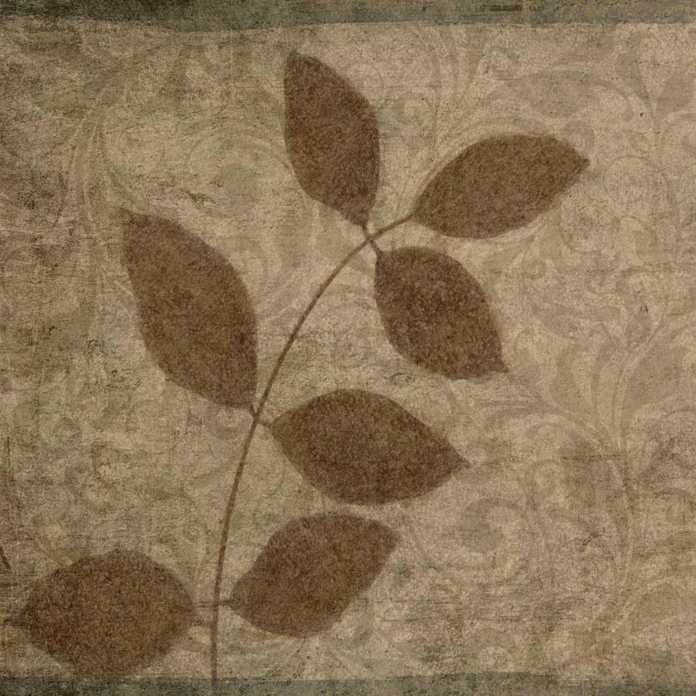 konfigurieren des Kunstdrucks in Wunschgröße Vintage Leaves III von Emery, Kristin