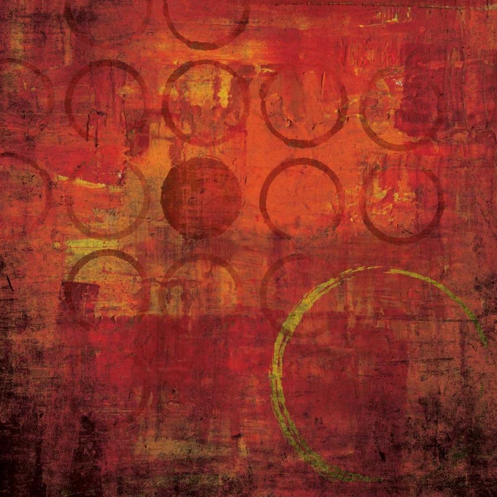 konfigurieren des Kunstdrucks in Wunschgröße Red Hot I von Emery, Kristin