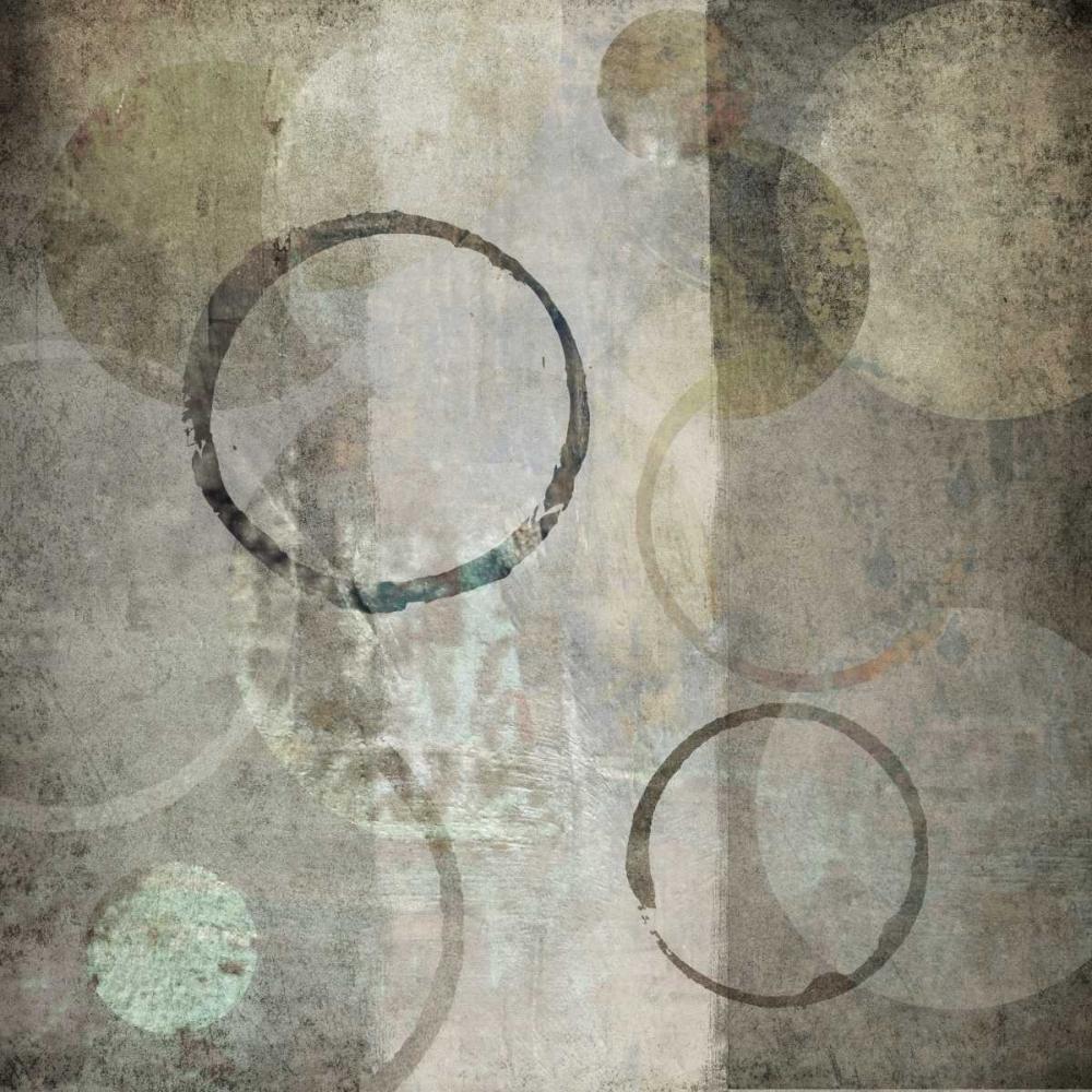 konfigurieren des Kunstdrucks in Wunschgröße Stone Circles I von Emery, Kristin