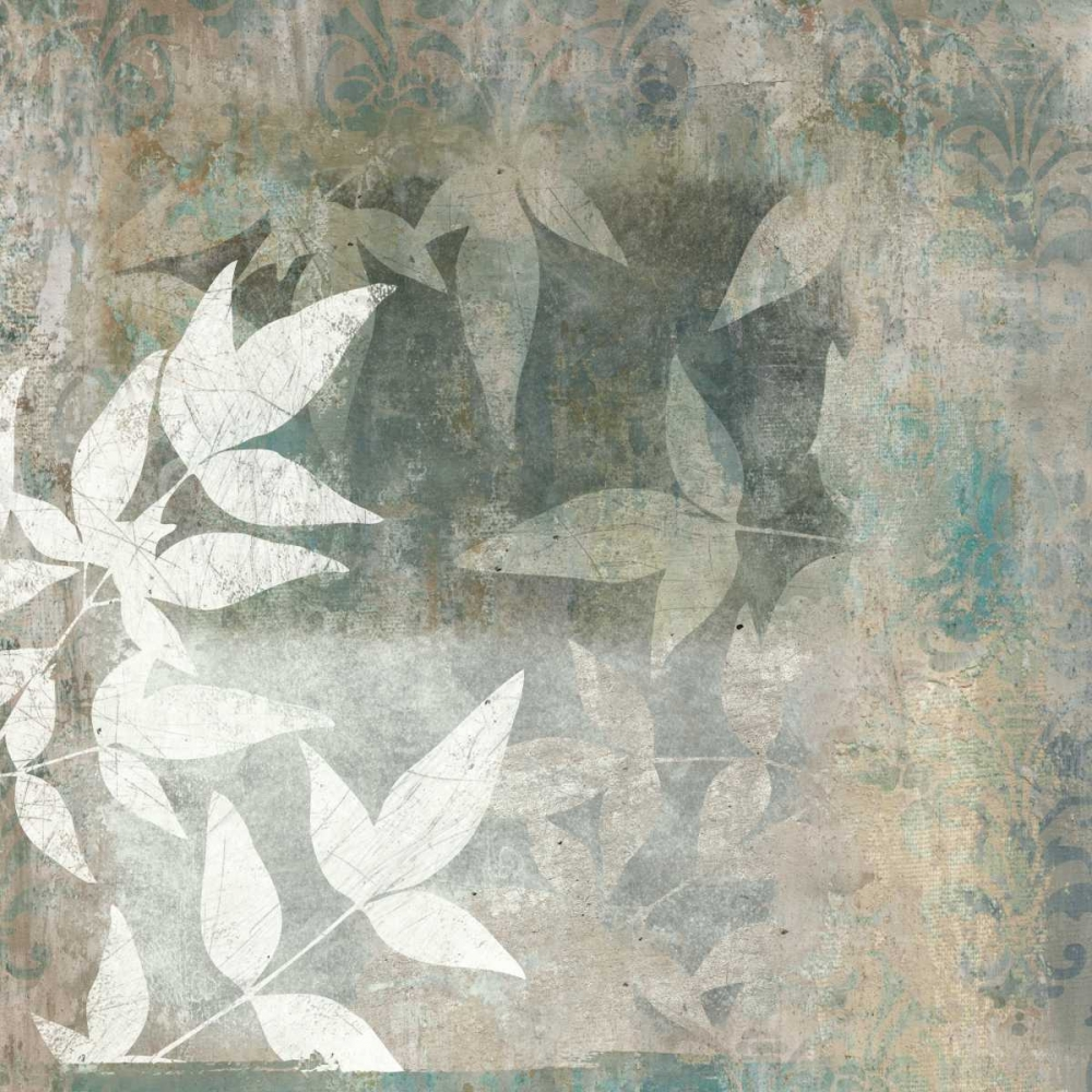 konfigurieren des Kunstdrucks in Wunschgröße Spa Leaves II von Emery, Kristin