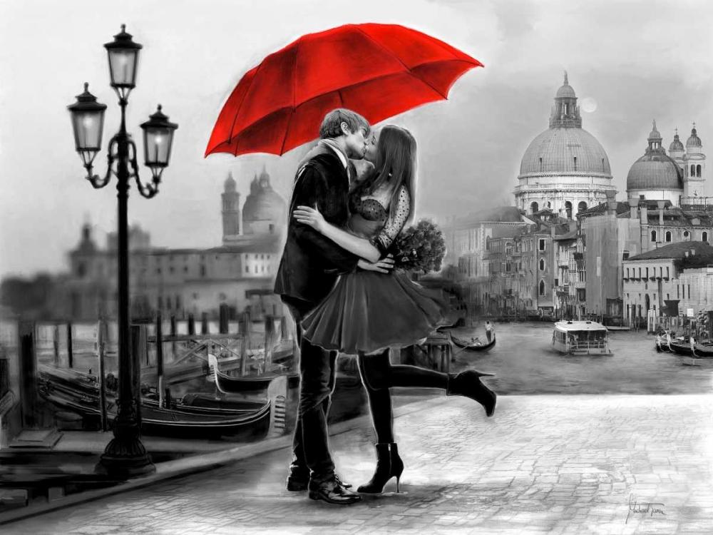 Figurative,Black & White,Figurative,Black & White,,,,MAD-RC-82674,Venice Kiss,Tarin, Michael,Horizontal