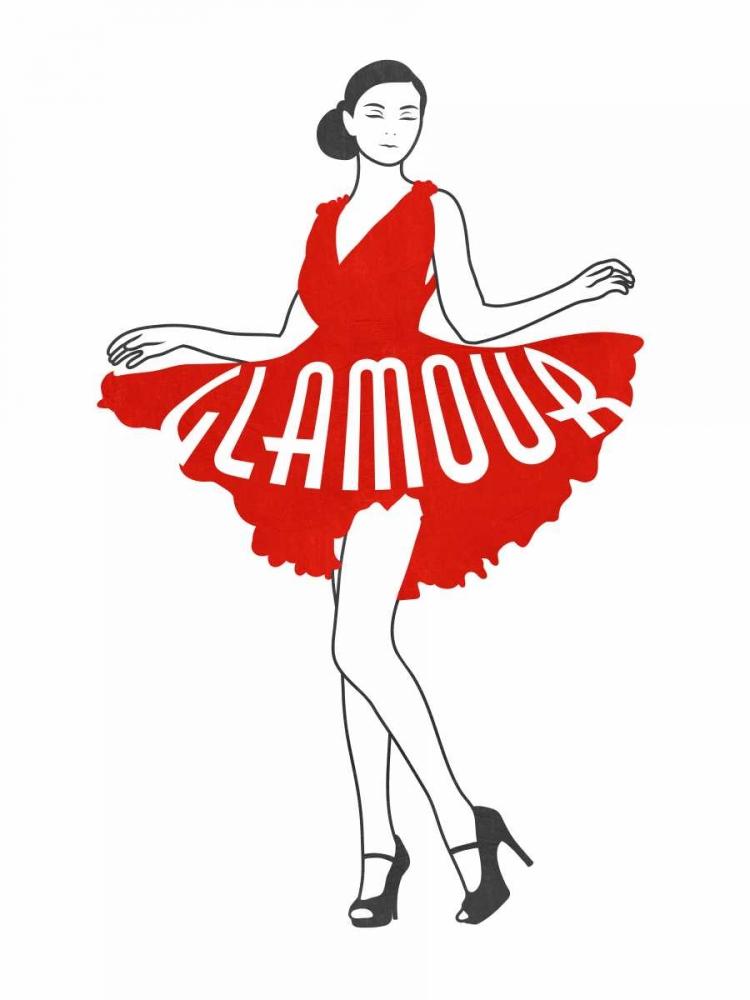 konfigurieren des Kunstdrucks in Wunschgröße Glamour Girl von Prime, Marcus