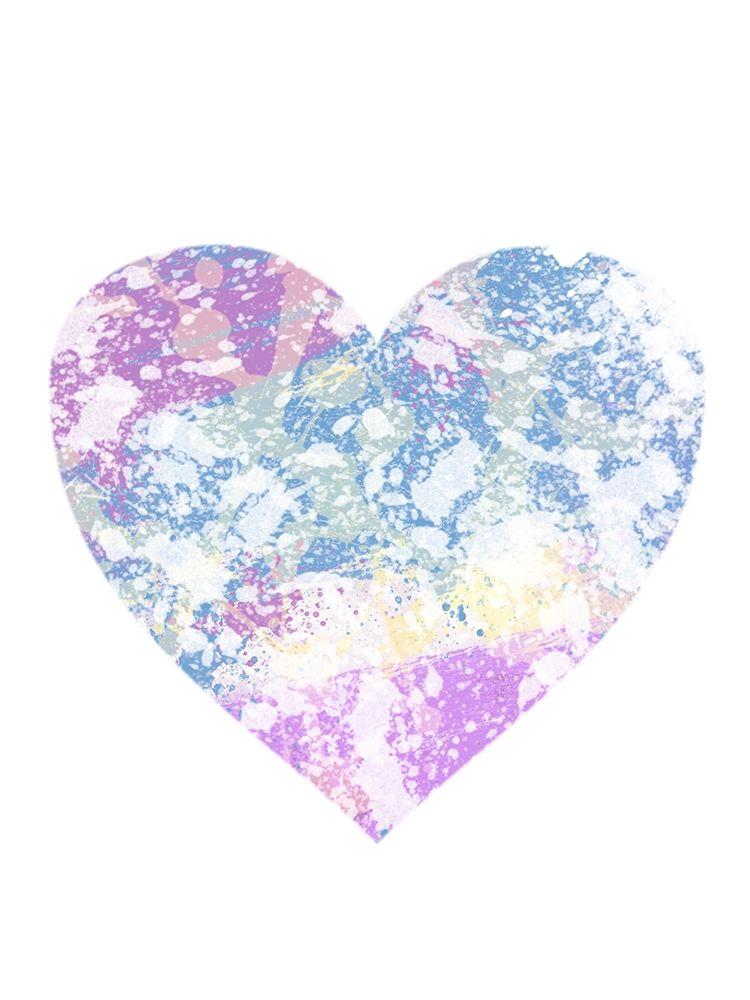 konfigurieren des Kunstdrucks in Wunschgröße Splattered Heart von Prime, Marcus