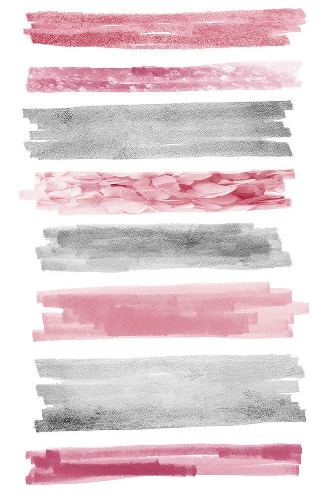 konfigurieren des Kunstdrucks in Wunschgröße Blush Paint Streaks von Prime, Marcus