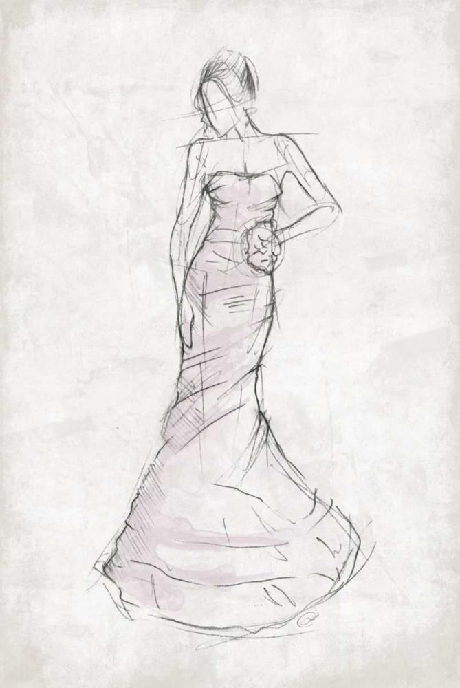 konfigurieren des Kunstdrucks in Wunschgröße Fashion Dress von OnRei