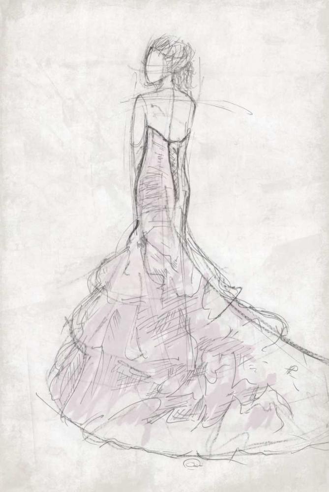 konfigurieren des Kunstdrucks in Wunschgröße Fashion Dress Mate von OnRei
