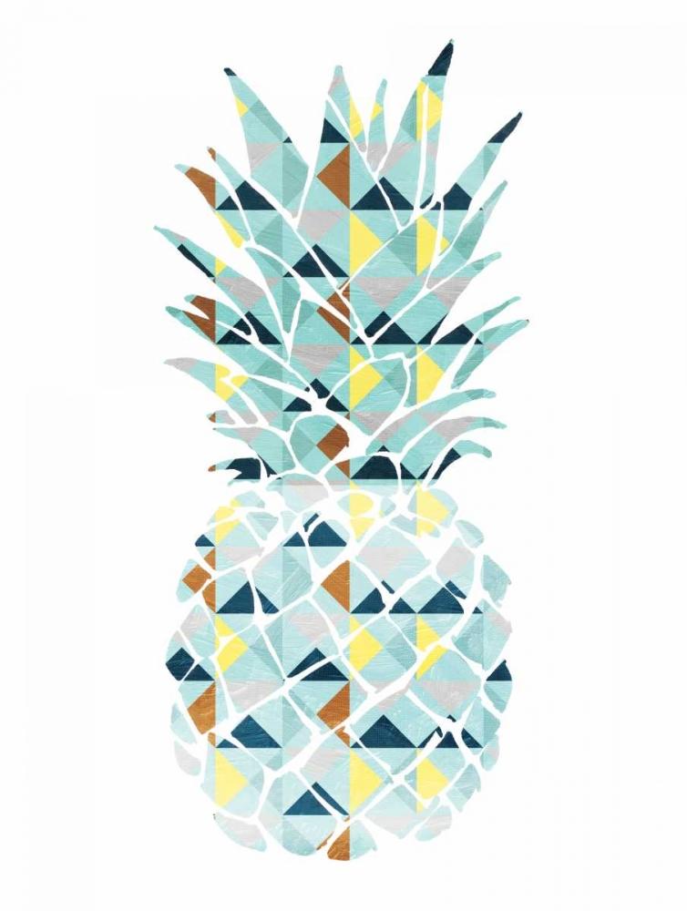 konfigurieren des Kunstdrucks in Wunschgröße Pineapple Triangles von OnRei