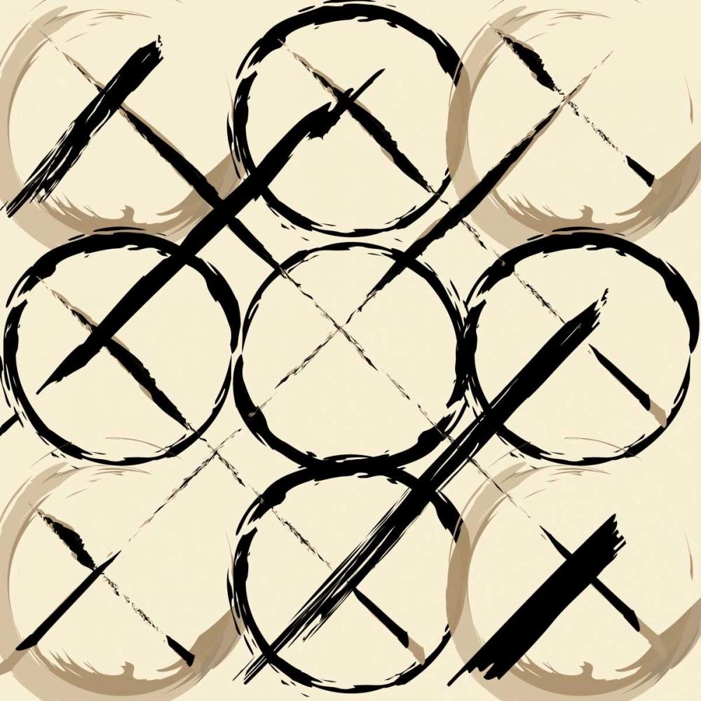 konfigurieren des Kunstdrucks in Wunschgröße XOXO Brown von OnRei