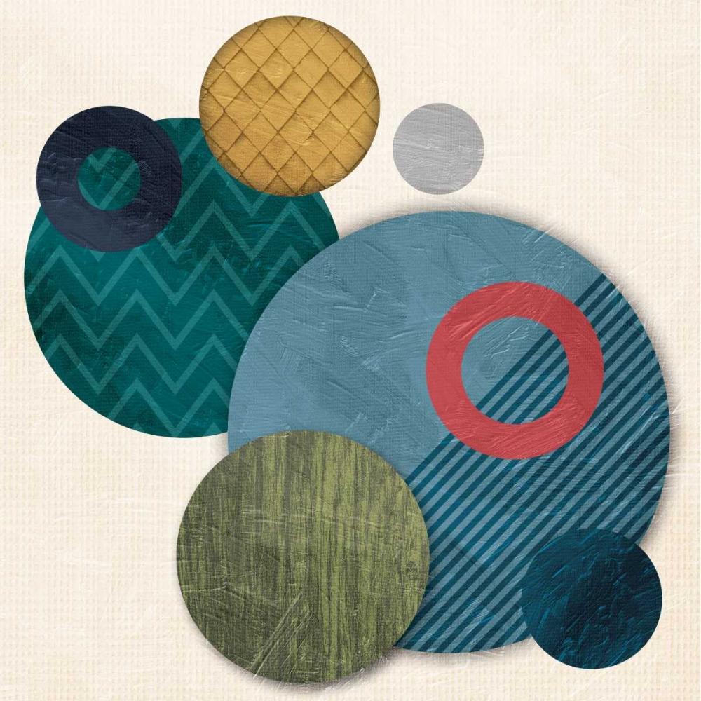 konfigurieren des Kunstdrucks in Wunschgröße Circular Convention von OnRei