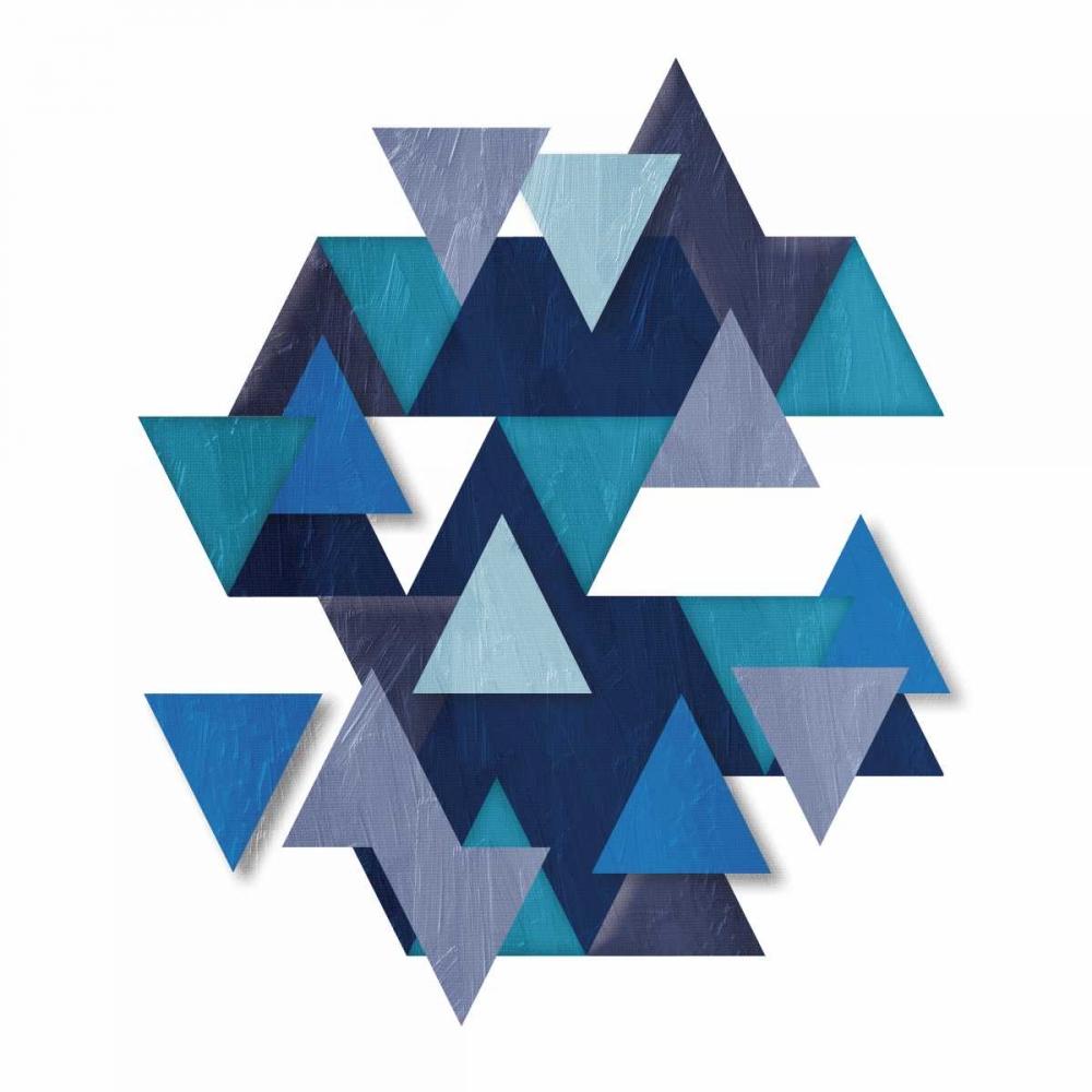 konfigurieren des Kunstdrucks in Wunschgröße Floating Blueberry Gems von OnRei